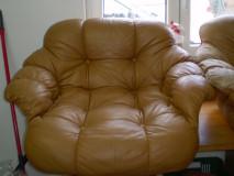 Po renovaci sedačky